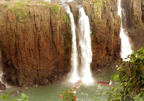 Boat Tour At The Iguazu Falls