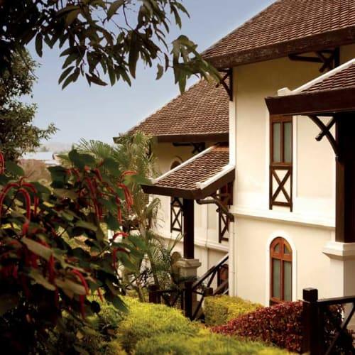 Colonia building in Laos