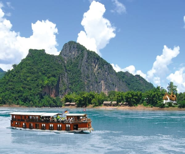 A Riverboat Cruise On the Mekong