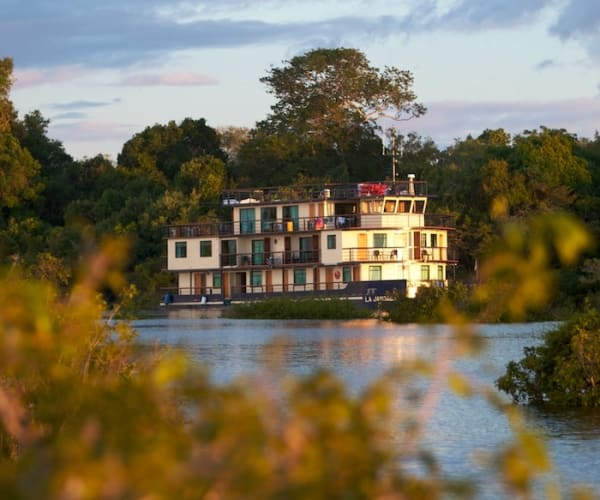 A Riverboat Cruise On the Amazon River