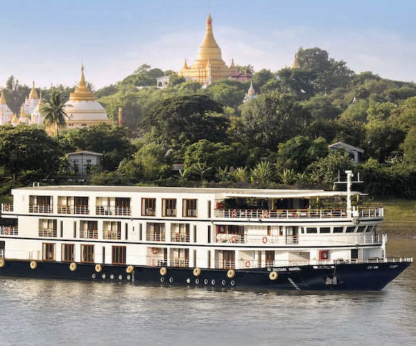 Luxury Riverboat Cruise In Burma