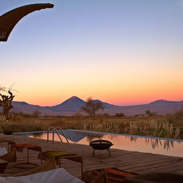pool and atacama desert
