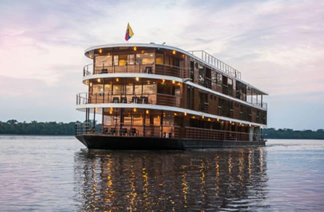 Amazon River Cruise Anakonda Ecuador