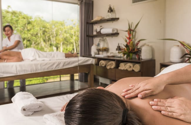 Massage in the spa