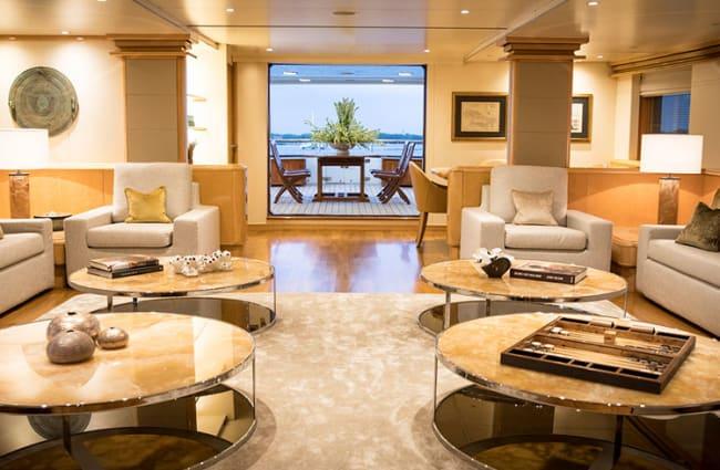 Elegant interior with sofas