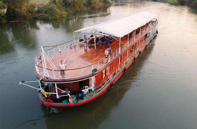 River Kwai ship on a River Kwai