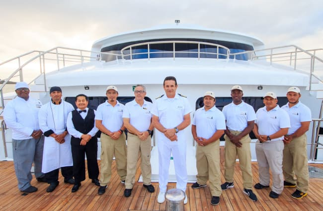 The staff and the captain