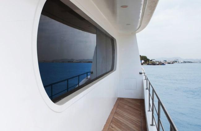Balcony onboard