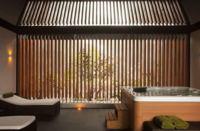 Open Air Hot Tub