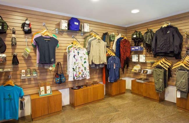 Clothes at the Gift shop