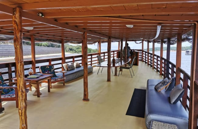 Open air deck
