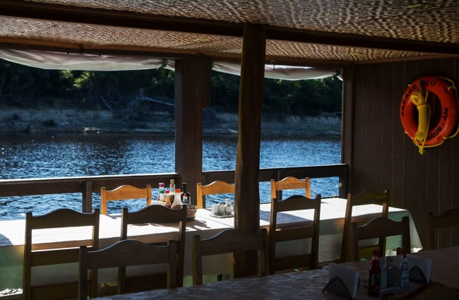 Breakfast with a river view