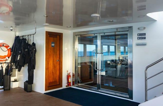 Door on the deck