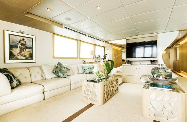 Elegant Lounge onboard