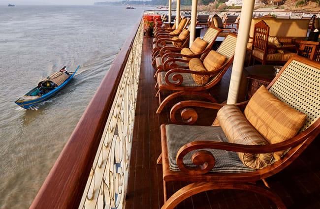 Seats on the sun deck