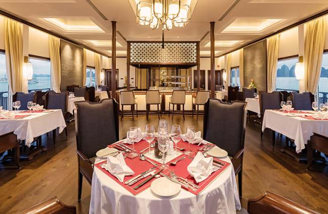 Elegant Restaurant onboard Ginger
