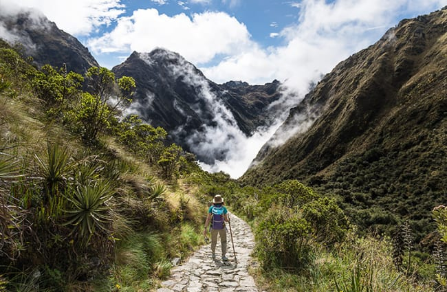 Ancient Highways of the Inca Trail Peru