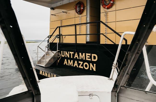 Untamed Amazon Boarding Area