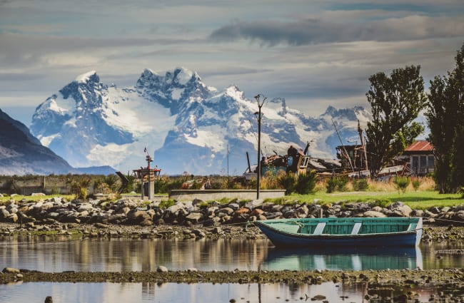 Puerto Natales Chile View