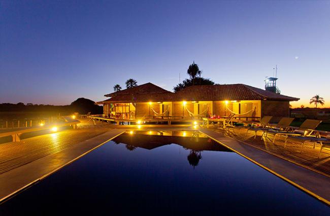 Swimming Pool Caiman Lodge