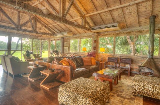 Living Room Cordilheira Caiman Lodge