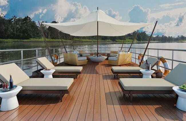 Deck on Spondias