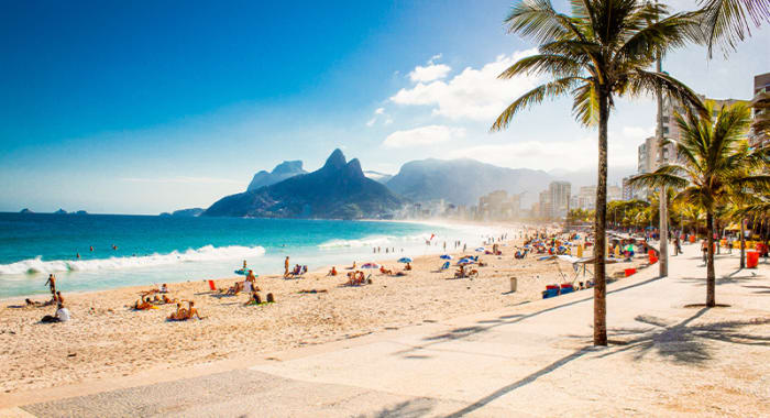 Rio Afternoon Beach Image