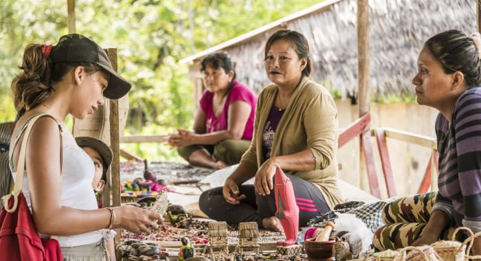 Artisans in the Amazon