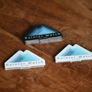 Rainier Watch Logo - Magnet 3 Pack