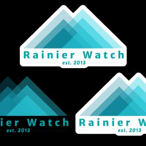 Rainier Watch Logo 3 Pack