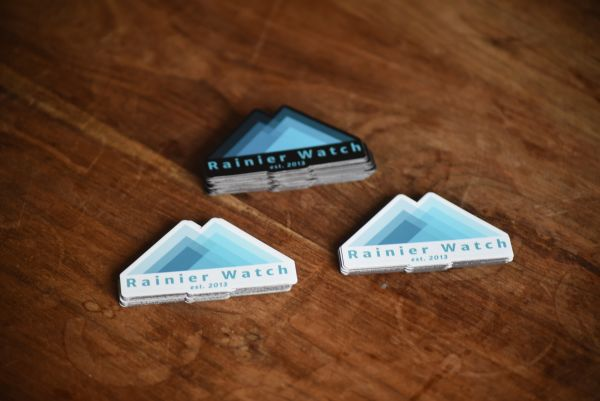 Rainier Watch Logo - Magnet 3 Pack