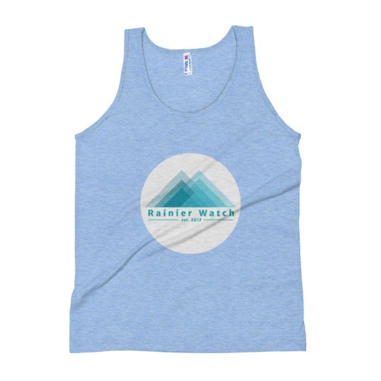 RW Logo Tank - Athletic Blue, M