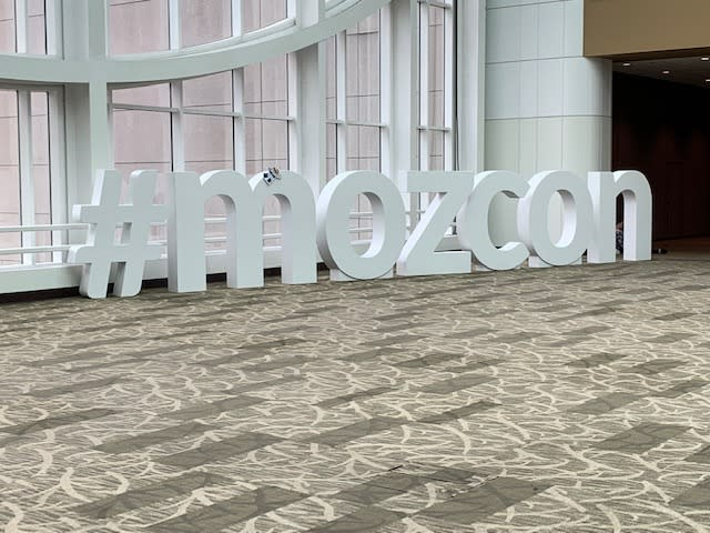MozCon 2019 SEO
