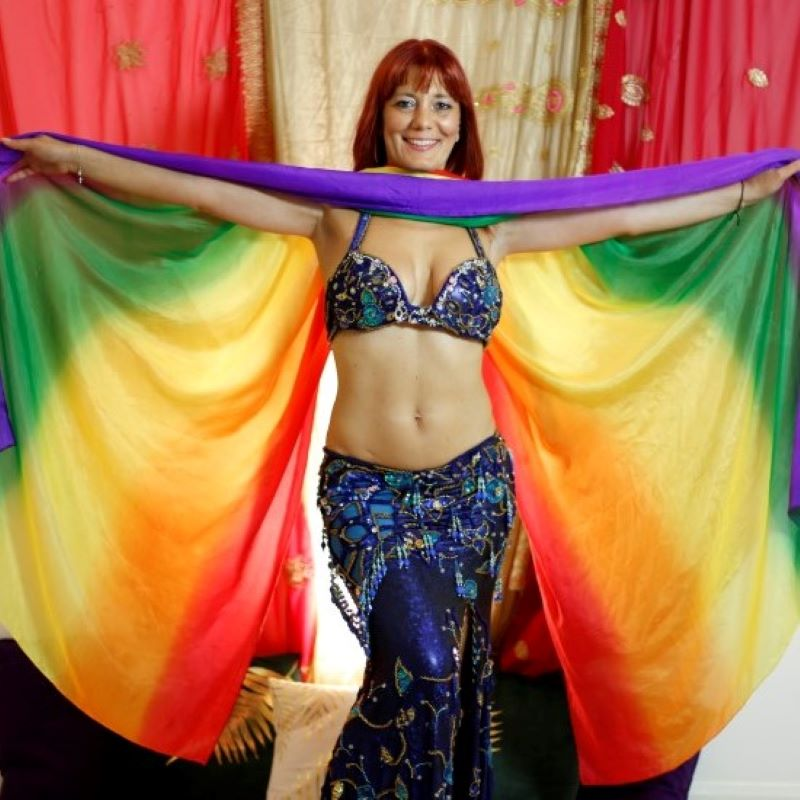 Sacred belly Dance group