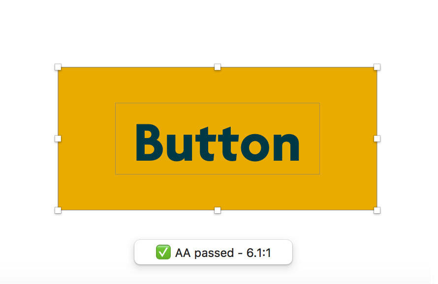 Accessible button