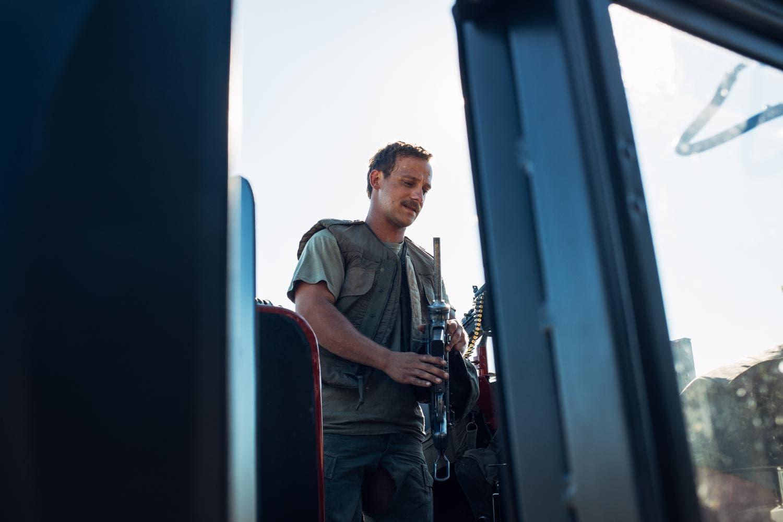 "On patrol with the 101st Gun Truck Crew ""Choking Kind""."
