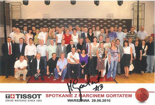 Tissot - Spotkanie z Marcinem Gortatem