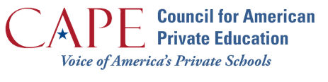 Council for American Private Education (CAPE) Logo