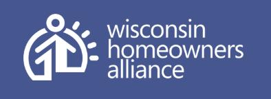 Wisconsin Homeowners Alliance Logo