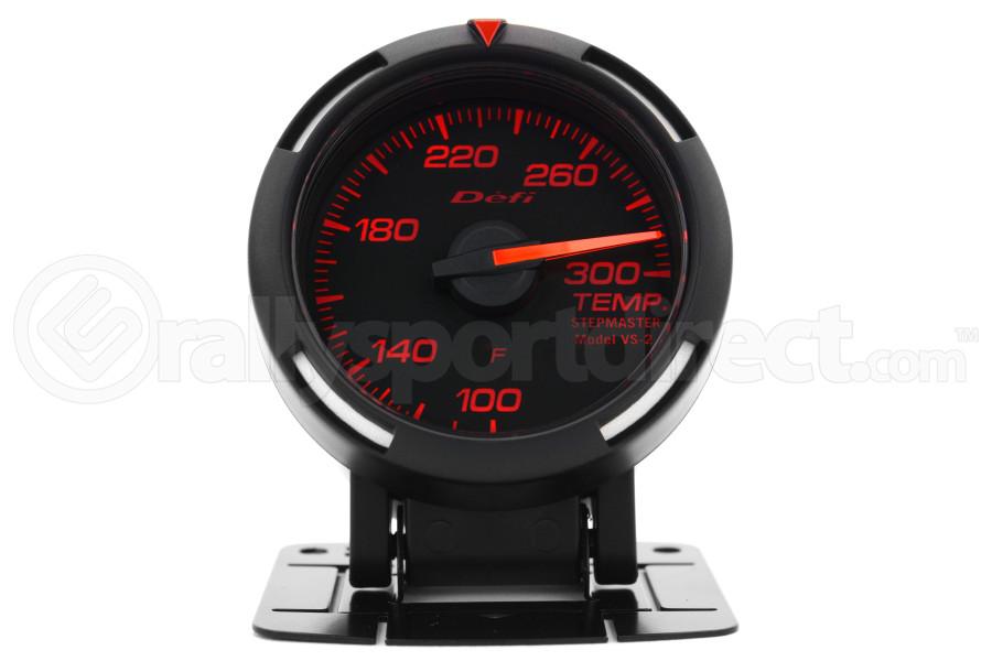 defi red racer temperature gauge imperial 52mm 100 300f def1 df06702 temperature gauges. Black Bedroom Furniture Sets. Home Design Ideas