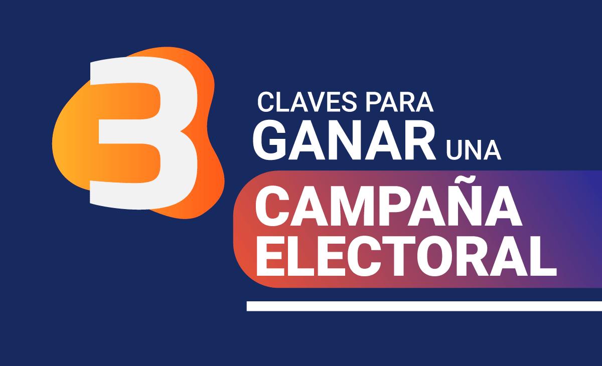 Tres Claves Para Ganar Una Campaña Electoral Candidato