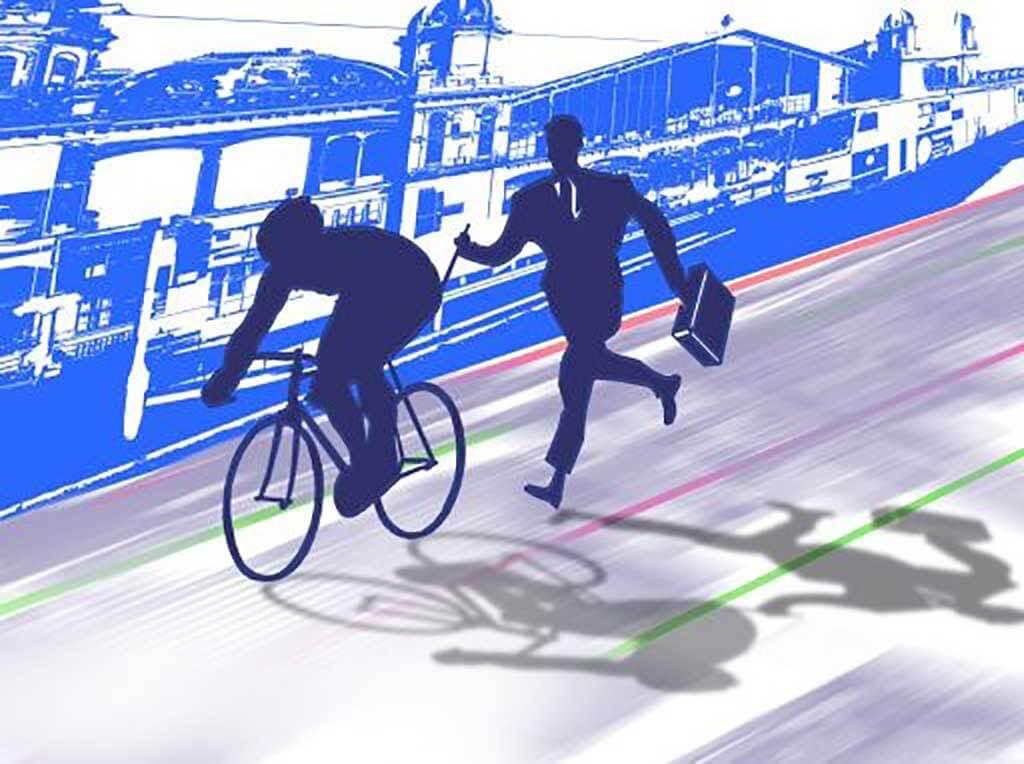 A biciklizés nyereséget, az autózás veszteséget hoz a gazdaságnak