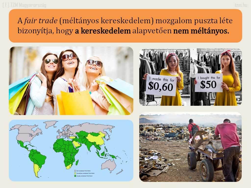 A méltányos vagy becsületes kereskedelem