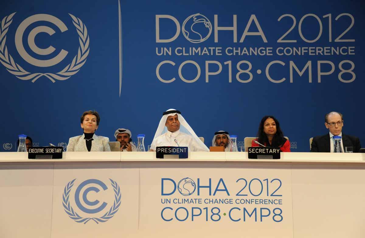 Klímacsúcs Dohában