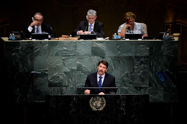 Áder János fontos bejelentést tett az ENSZ-ben