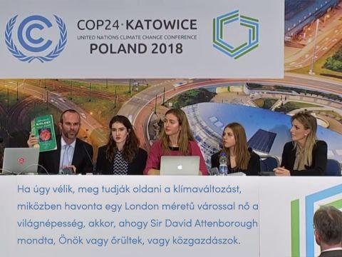 Tragikomikus, elhallgatott tény a COP24-en ! - ClimeNews - Hírportál