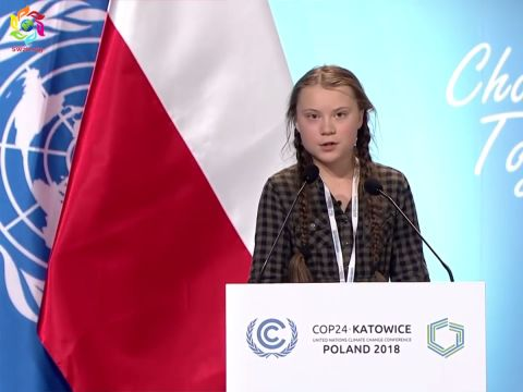 """""""Önök ellopják tőlünk a jövőnket"""": Greta Thunberg   ClimeNews"""