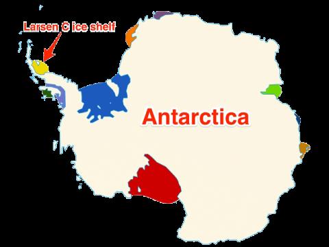 Leszakadt egy 1 billió (!) tonnás jégdarab az Antarktiszról | ClimeNews - Hírportál