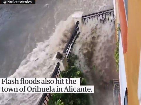 Hatalmas károk a Spanyol esőzésekben | ClimeNews