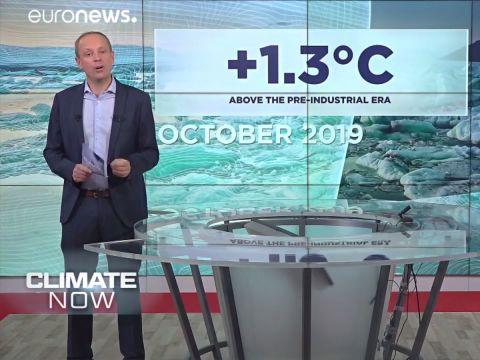 Az átlaghőmérséklet 1.3 Celsius-fokkal haladta meg az ilyenkor szokásos   ClimeNews